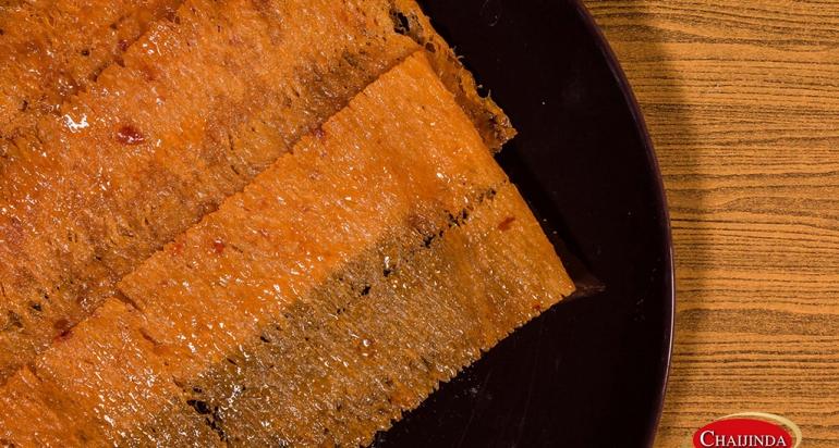 ปลาหมึกแห้งปรุงรส : ชุบน้ำผึ้ง (SQW-S02)
